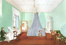 Sypialnia Hrabiny Antonie Gyulai w Wiedniu, 1831r.