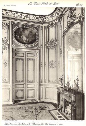 Plansza numer 29 - Mały buduar na pierwszym piętrze
