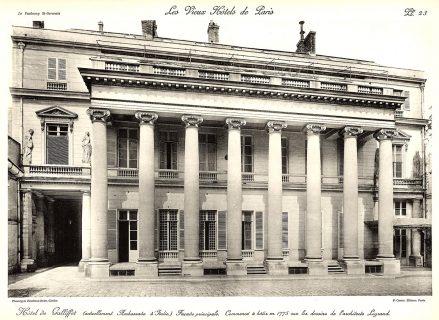 Plansza numer 23 - Główna fasada.