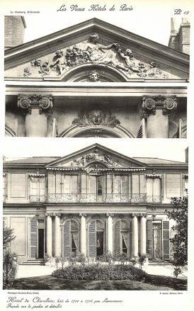 Plansza numer 19 - Hotel de Charolair,
