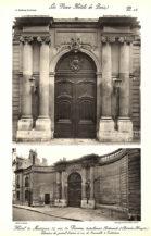 Plansza numer 15 - Elewacja portalu wejściowego
