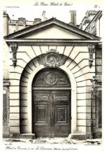 Elewacja portalu wejściowego