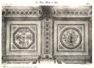 Plansza numer 6 - Sufit, podział symetryczny galerii zewnętrznej na 1. piętrze