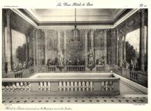 Plansza numer 28 - Widok na wielką klatkę schodową malowaną przez Brunettiego