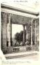 Plansza numer 29 - Widok boczny i rzut na wielką klatkę schodową malowaną przez Brunettiego