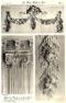 Plansza numer 25 - Szczegóły w dużej skali rzeźbionej boazerii w jadalni.