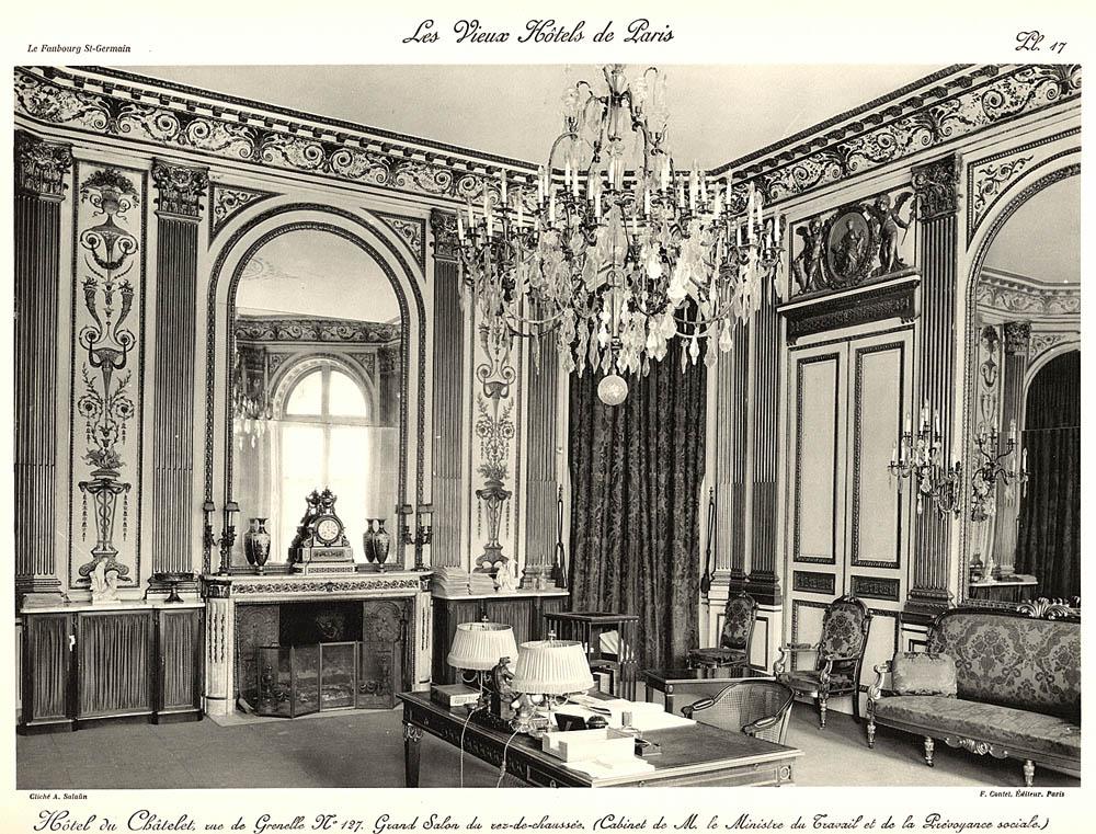 Hotel de chatelet ulica de grenelle 127 antyki d 39 raculi for Salon de the chatelet
