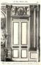 Plansza numer 18 - Drzwi i boazeria w wielkim salonie na parterze.