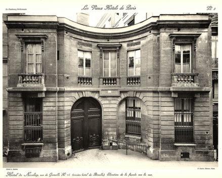 Plansza numer 8 - Elewacja fasady od ulicy