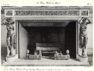 Plansza numer 39 - Dawny Hotel d'Evreux. Mały salon. kominek ozdobiony kariatydami ze złoconego brązu. Długość 1.85m, wysokość 1.17m.