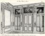 Plansza numer 51 - Dawny Hotel Baudart de St-James 1777. Hotel de Broglie 1886. Salon na drugim piętrze. Widok ogólny.