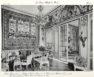 Plansza numer 67 - Hotel Germain Boffrand. Hotel Magon de la Balue 1780. Hotel de Gargan 1878. Mały salon należący do pana barona Fould Springer'a (2.widok).
