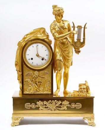 Brąz złocony, Francja ok. 1810 r.