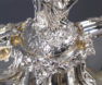 brąz srebrzony, syg. Christofle Paris, I poł. XX w.