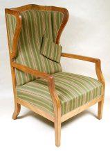 massif mahogany, inlay, ca c1900