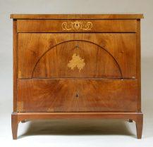 veneered with mahogany, ca c1830