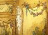 polichromia, złocenia, mosiężne okucia, blat marmur, I połowa XX w.