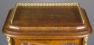 okleiny palisander i orzech, mosiądz złocony ok. 1900r