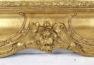 konstrukcja drewniana, złocenia, blat marmur, II połowa XIX w.
