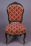 sofa, pair of armchairs and four chairs, massif rosewood, half of the XIX thC
