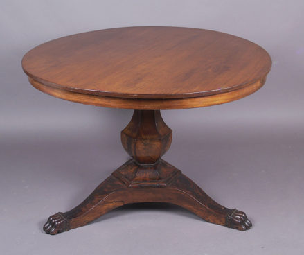 veneered with mahogany, c. 1850