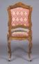 okleiny orzechowe, brąz złocony, tapicerka haftowana, ok. 1900 r.