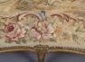 konstrukcja drewno liściaste rzeźbione i złocone, Francja koniec XIX w.
