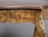 intarsje z różnych gatunków drewna, mosiężne okucia, Londyn ok. 1900r.