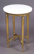 gildings, marble top, 20 thC