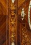 okleiny palisander, blat marmur, brąz złocony, ok. 1900r.