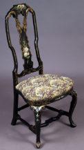 polichromia i złocenia, żakardowa tapicerka, ok. 1900 r.
