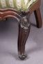 masiff mahogany, carvings, late 19thC