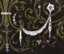 inkrustacja z blachy mosiężnej, kości i masy perłowej, Francja połowa XIX w.