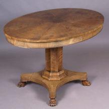 veneered with mahogany, late 19thC