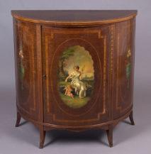 drewno satynowe, polichromia, ok. 1900r.
