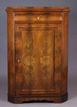 veneered with mahogany, half of the 19thC,