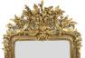 polichromia i złocenia , blat marmur, pocz. XX w.