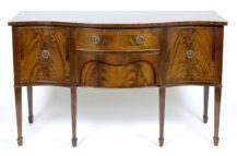veneered with mahogany, brass, England early 20thC