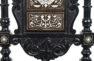 okleiny heban, snycerka, intarsja z kości, II połowa XIX w.