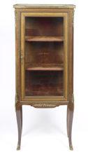 veneered with rosewood, marble top, brass, II half of the 19thC.