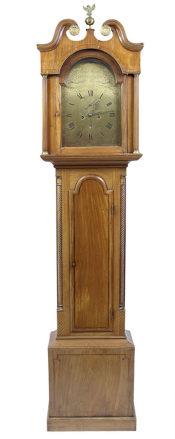 okleiny mahoniowe, snycerka, mech. John Smith Pittenweem, XVIII/XIX w.