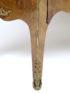 okleiny palisander, intarsje z różnych gatunków drewna, okucia brąz, marmurowy blat, połowa XIX w.