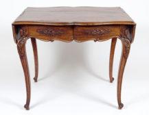 rosewood and mahogany veneers, carvings, mid-19thC,