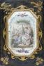konstrukcja sosnowa, mazerowana, polichromia i złocenia, snycerka, litografie na papierze, Europa południowa, połowa XIX w.