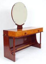 veneered with mahogany and birch, leather, c.1930