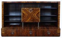 okleiny palisander, szkło, stalowe uchwyty, ok. 1930 r.