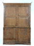 okleiny mahoń i orzech, konstrukcja dębowa, intarsje z różnych gatunków drewna, mosiężne kluczyny i ciągadła, połowa XIX w.