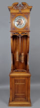 konstrukcja sosnwo-dębowa, snycerka, LFS Niemcy, ok. 1900r.