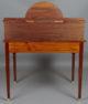 okleiny mahoniowe, intarsje z różnych gatunków drewna, mosiężne okucia, ok. 1920r.