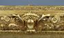 Konstrukcja sosnowa w polichromii, miejscami złocona i polerowana, koniec XIX w.